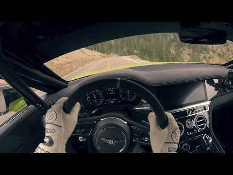 On Board Drivers-Eye Footage ? Bentley Continental GT Pikes Peak Record Run | Bentley Motors