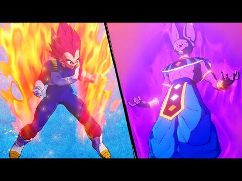 قتال الآلهة فيجيتا ضد بيروس ساما لعبة دراغون بول زي   Dragon Ball Z Kakarot
