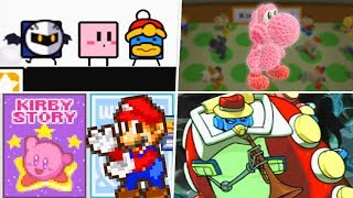 Evolution of Kirby Easter Eggs & References (1992 - 2019)