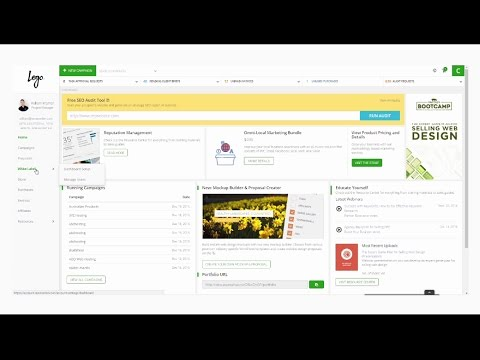 SEOReseller's Dashboard Walkthrough Video