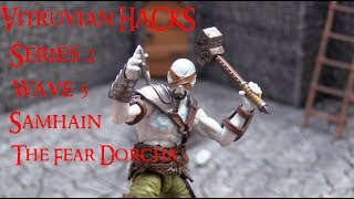 DIAGNOSTIK80'S REVIEWS - BOSS FIGHT STUDIO VITRUVIAN HACKS WAVE 5: SAMHAIN THE FEAR DORCHA!!