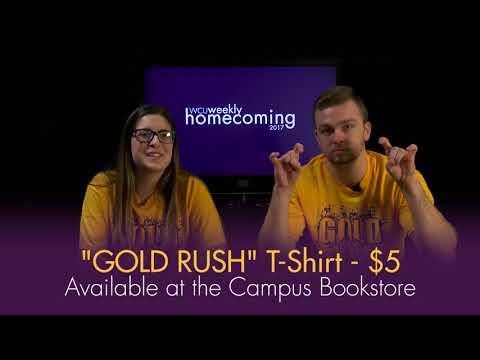 WCU Gold Rush T-Shirt Promo