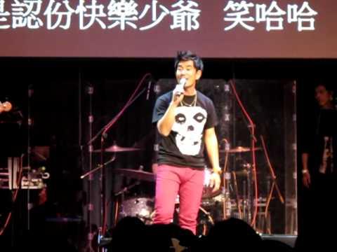 2011/12/09 任賢齊 @ 西門河岸留言演唱【再出發】