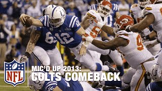 Andrew Luck & Colts Mic'd Up Mega Comeback vs. Chiefs 2013 Playoffs | NFL