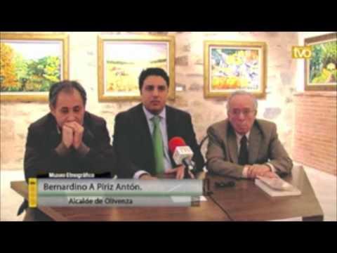 """Presentación de """"Suene la voz apasionada del poeta"""" en Olivenza"""