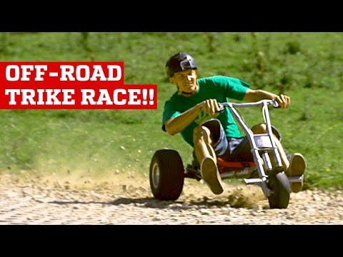 OFF ROAD DOWNHILL TRIKE RACE! | PEOPLE ARE AWESOME Poster