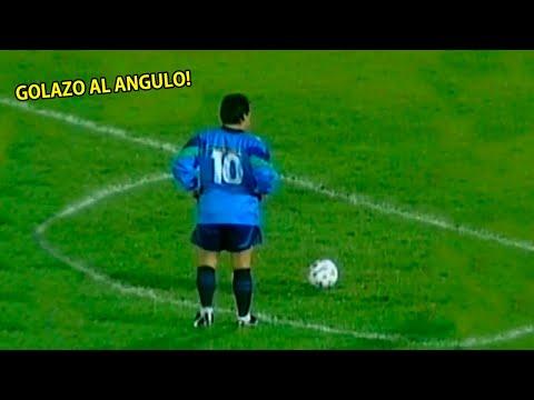 El día que Maradona y Francescoli demostraron su Magia en el mismo equipo (2000)