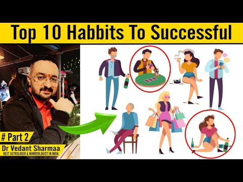 Top 10 Habits Of Successful Rich People In Hindi Part 2 Motivational Video Speech