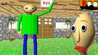 MINECRAFT MODE! Baldi's Basics in Education and Learning
