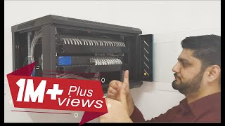 Learn Network Cable Management Inside Rack From Scratch