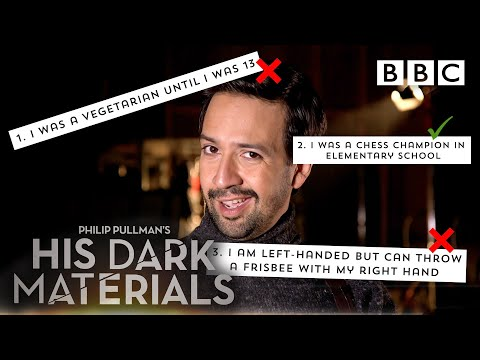 Two truths and a lie challenge with cast of His Dark Materials – BBC
