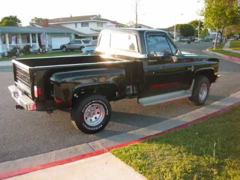 for sale 1985 chevrolet k10 silverado 4x4 pickup original owner wmv youtube. Black Bedroom Furniture Sets. Home Design Ideas