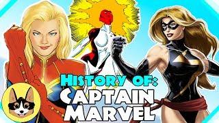 Comic History of Captain Marvel / Carol Danvers / Ms Marvel / Binary