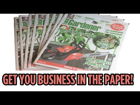 video Subscribe to the Local Gardener NEWSPAPER