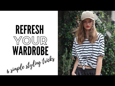 Video: Six styling secrets for a quick new season wardrobe refresh | fashion trends 2019