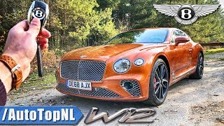 2019 Bentley Continental GT W12 REVIEW POV Test Drive on AUTOBAHN & ROAD by AutoTopNL