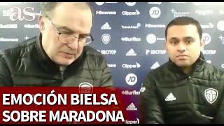 Emocionantes las palabras de BIELSA sobre MARADONA | Diario As