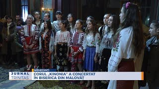 "Corul ""Kinonia"" a concertat in biserica din Malovat"