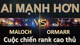 Liên Quân Mobile: Sức mạnh của tướng mới ra Maloch - Quạt bay Ormarr rank cao thủ