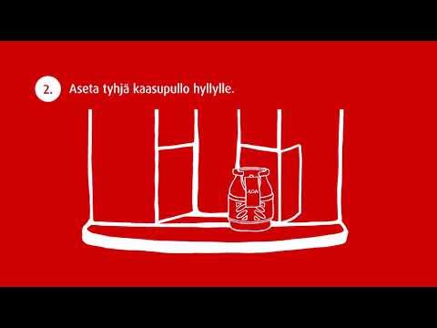 Miten käyttää AGAn nestekaasuautomaattia?