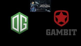 OG vs Gambit Esports Winter Madness Highlights Dota 2