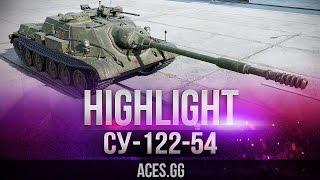 СУ-122-54 видео в World of Tanks и аттракцион игроков ради удовольствия!