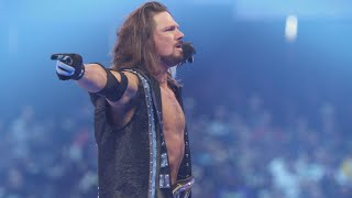 """AJ Styles is unsure about his future (Featuring """"Whatever It Takes"""" by Imagine Dragons)"""