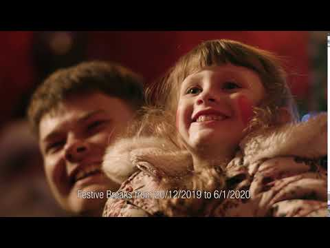 Center Parcs Longford Forest Festive 10 second advert