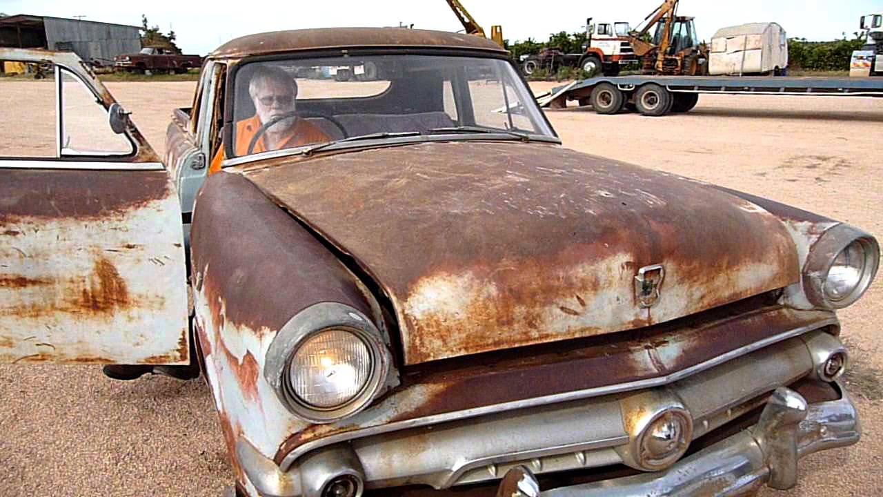 1954 Ford Mainline Utility - Paddock find (Video 3)