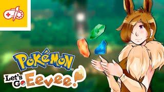 Pokémon Let's Go Eevee #ElShowDeJuegosyDibujos