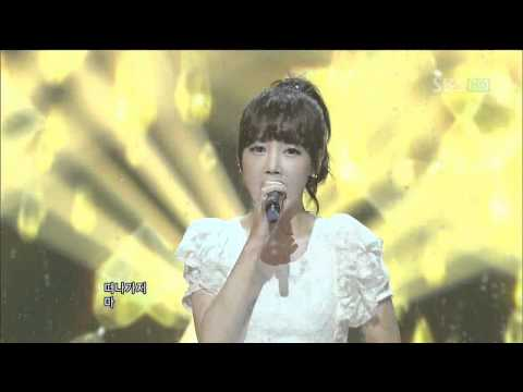 T-ara+Davichi  - We were in love (우리 사랑했잖아) @SBS Inkigayo 인기가요 20120101