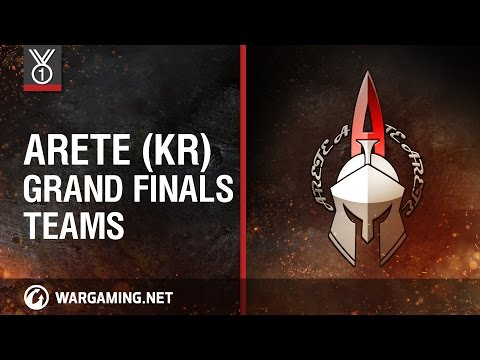 Arete (KR). Grand Finals Teams, Wargaming.net League