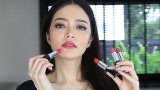 No7 Moisture Drench Lipstick swatch 9 สี I Florence room beauty
