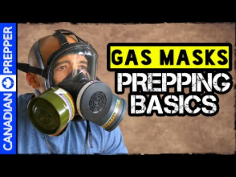 3 Types of Gas Mask Filters You Need to Survive Disaster