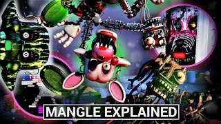 FNAF Animatronics Explained - MANGLE (Five Nights at Freddy's Facts)