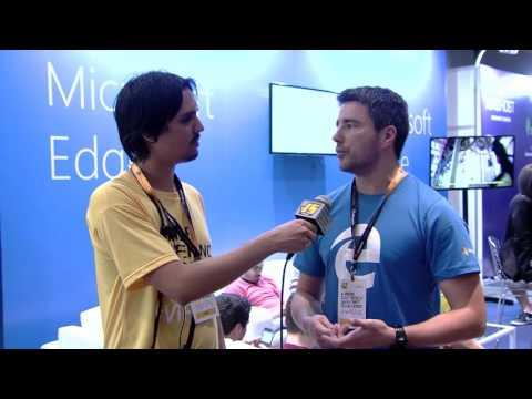 Entrevista BrazilJS 2016 - Microsoft