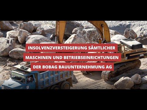 Insolvenzversteigerung! Baumaschinen und Inventar - Dumper, Bohrmaschinen, Handgeräte etc.