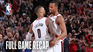 NUGGETS vs TRAIL BLAZERS | Historic 4OT Instant Classic | Game 3