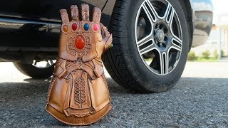 CAR VS THANOS INFINITY GAUNTLET