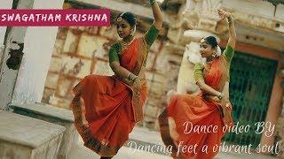 SWAGATHAM KRISHNA (AGNYAATHAVAASI) - Kuchipudi dance