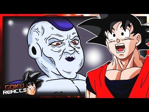 Goku Reacts To Dragon ball Super Parody Frieza Loves Vegeta