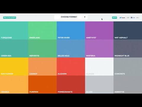 video Flat Ui Colors