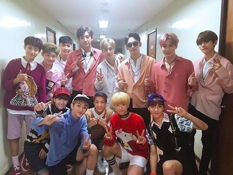 EXO & NCT Moments Part 3 [nct are exo's fanboy #1]