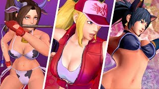SNK Heroines - All Ultimate Moves (Dream Finish)