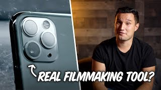 The iPhone 11 Pro from a Filmmakers Perspective..