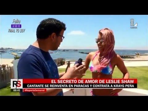 Leslie Shaw en Aranwa Paracas