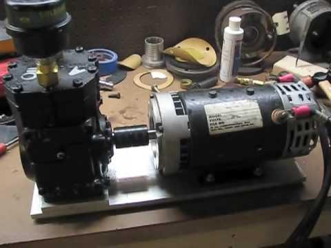 12 Volt Air Compressor Heavy Duty >> DIY 12V air compressor - YouTube