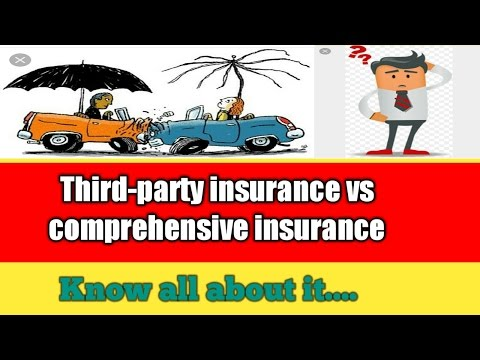  what is Third party insurance  comprehensive motor insurance  types of vehicle insurance in hindi
