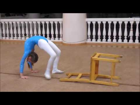 Flexibility And Stretching Internal Contest In Contortion School (Full Version) - 柔軟な女の子