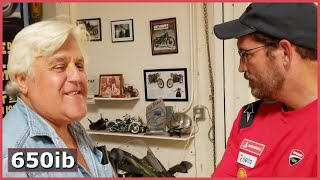 TOURING Jay Leno's Garage with Jim Caviezel!